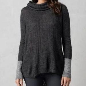 Prana | Rochelle Two Tone Cowl Neck Sweater